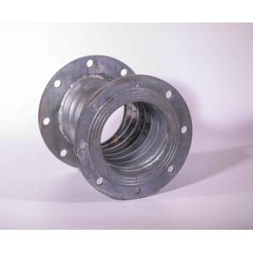 Спиральная сварка гофрированной трубы из оцинкованной стали