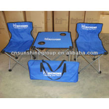 Portable kids table and chair set,camping sets