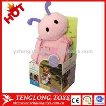 Seguridad animal hormiga muñeca de peluche con el bebé caminando asistente
