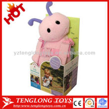 safety animal ant plush doll with baby walking assistant