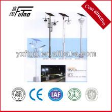 Solarbetriebener Parkplatz Lichtmast