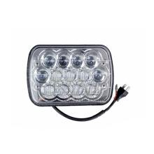 Linsen-LKW-Zusatz-LED-Arbeitslicht-LKW des 7.3inch 12V 5D, der Scheinwerfer fährt