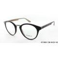 Lady shape combination acetate with metal optical frames & acetate eyeglasses eyewear