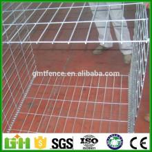 Hesco soldadura malla gabion / alambre soldado gabion caja / galfan soldado gabion