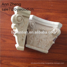 antique wood columns/decorative wood carving corbels