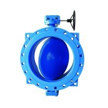 Ductile Iron Double Eccentric Center Butterfly Valve