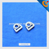2016 new design plastic semi-circle buckle for strap connecting hook and strap