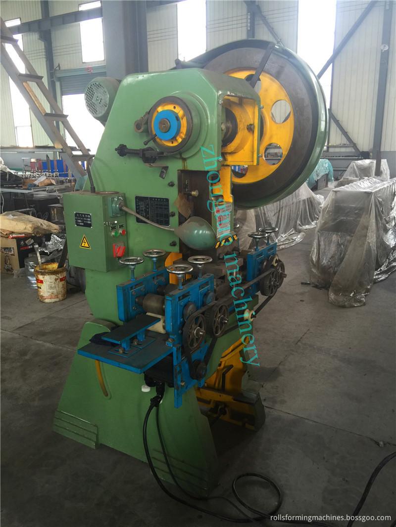 wire corner roll forming machine