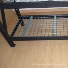 Estantes de plataforma de almacenamiento de acero industrial para la solución de almacenamiento de almacén
