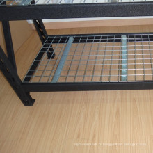 Supports industriels de palette de stockage en acier pour la solution de stockage d'entrepôt