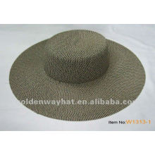 Ladies plain southern comfort girls straw hat