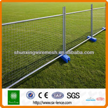 Hot dipped Galvanized Temporary Wire Fence