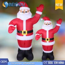 Publicité gonflable Père Noël Papillon gonflable géant Papa Noël