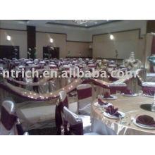 Satin chair cover,Hotel/banquet chair cover,satin chair sash