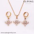 62346-Xuping Fashion Woman Jewlery Set with 18K Gold Plated