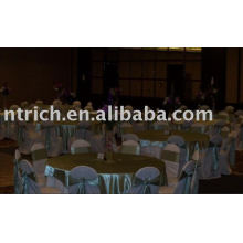 100%polyester chair covers,hotel/banquet/wedding chair covers,satin sash