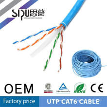 SIPU high quality UTP cat6 network cable extender of electric wires and cables