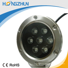 CE ROHS outdoor rgb led pool light IP68 stainless steel 304 3years warranty