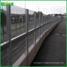 Cloture de sécurité décorative anti-escalade 358 couvert de pvc
