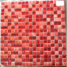 Red Stone Mosaic Mix Glass Mosaic Tile (HGM360)
