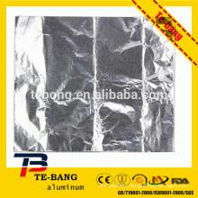"""Aluminium foil pop-up sheets 9"""" x 10.75"""""""