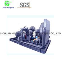 Compresor de desplazamiento de gas 1200nm3 / H para instalaciones eléctricas / de energía