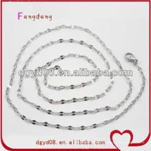 cadena de acero inoxidable para la fabricación de joyas