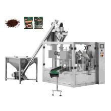 Automatic Rotary Ziplock Bag Wheat Snus Cocoa Milk Tea Coffee Powder Packing Machine