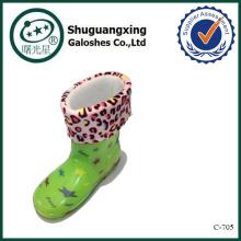 zapatos de la lluvia de los cabritos de la halterofilia