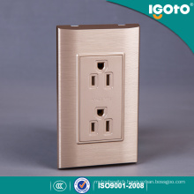 Home Electric 6 Pin Wall Socket American Standard Duplex Receptacle