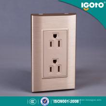 Tomada elétrica elétrica doméstica de 6 pinos Receptáculo duplex padrão americano