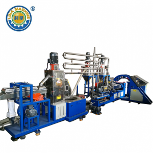 TPE Plast Under Vatten Extrusion Pelletizer