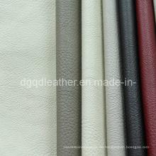 Glatte Oberfläche Möbel Leder PU-Leder (QDL-FP001)