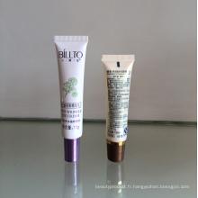 15g Tube en plastique pour la cosmétique avec bouchon à vis