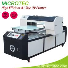 Высокий эффективный Размер А1 УФ принтер М1 от вершины