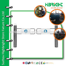 High Quality anti-rust manual swing gate for supermarket
