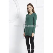 chandails tricotés personnalisés en gros chandails tricotés chandail fille