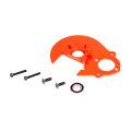 Оранжевый CNC алюминиевый редуктор комплект плит