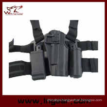 Tactical Drop Leg Gun Holster with Tactical Mag Pouch for CQC Colt 1911
