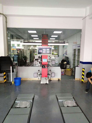 3D Wheel Alignment with Database Update