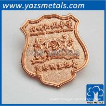 charming souvenir badge for basketball team