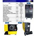 CE Aprobado alimentador de alambre de alta calidad compacto monofásico de CO2 de gas protegido MIG máquina de soldadura 200AMP máquina de soldadura