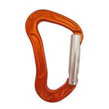 Б Тип прямой ворот 24KN для Альпинизм Алюминиевый карабин