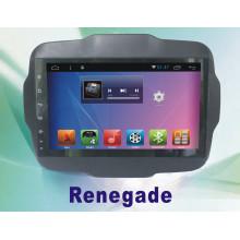 Système de navigation Android DVD de voiture pour Renegade 9 pouces avec GPS pour voiture