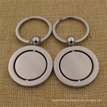 2016 maßgeschneiderte Metall Leder personalisierte Schlüsselanhänger mit Firmenlogo