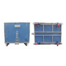 JB-5595A-2 Angle Iron Support Frame Storage Cage, Steel Storage Welded Wire Mesh Cage, Storage Cage/