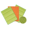 2014 Eco-Friendly Green cleaning sponge scouring pad