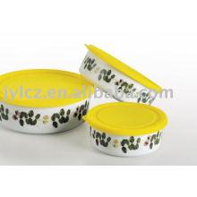 Ceramic crisper,round shape