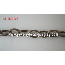 Curb metal chain
