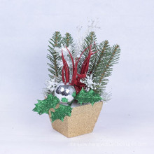Xmas Gifts Table Trees Attractive Ornaments Vivid